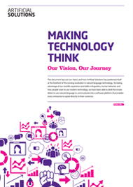 Our Vision: Making Technology Think